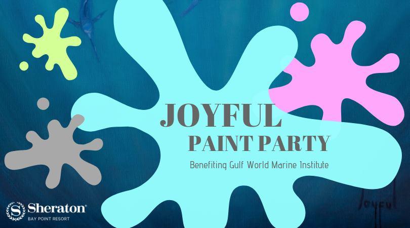 Joyful Fine Art Supports GWMI - Gulf World Marine Institute